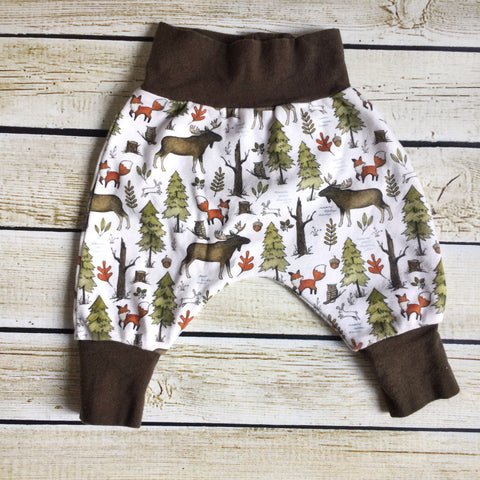 Forest Walk Organic Knit Joggers - Little Green Bird