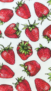 Strawberry Swaddle Blanket