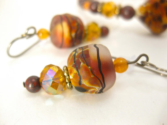 Fall Sunrise earrings