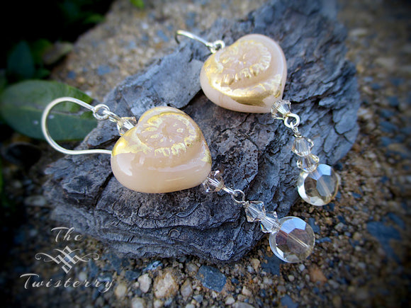 Champagne Blush earrings