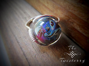 Cosmic Spinner Ring