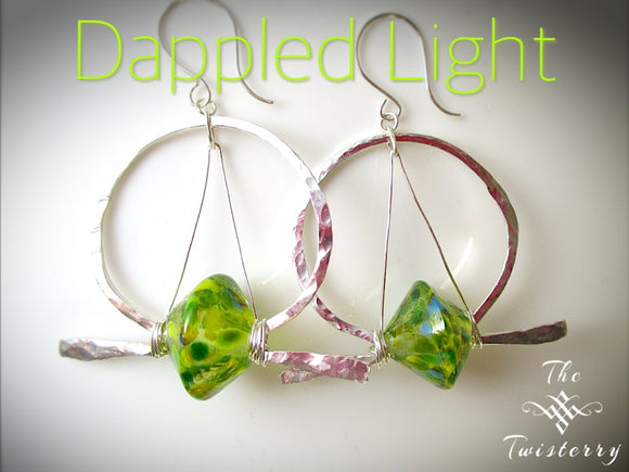 Dappled Light Earrings