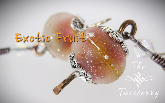 Exotic Fruit Sea Salted earrings