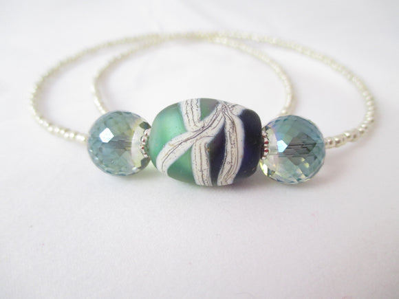 Seaside Sparkle necklace