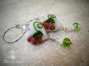 Victorian Garden earrings
