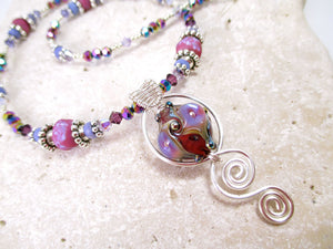 Victorian Bubble Swirl necklace