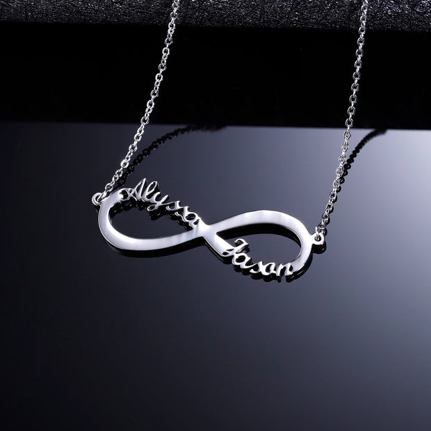 Infinity Name Necklace | Dorado Fashion