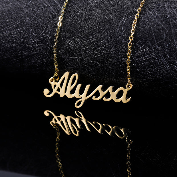 Custom Name Necklace | Dorado Fashion