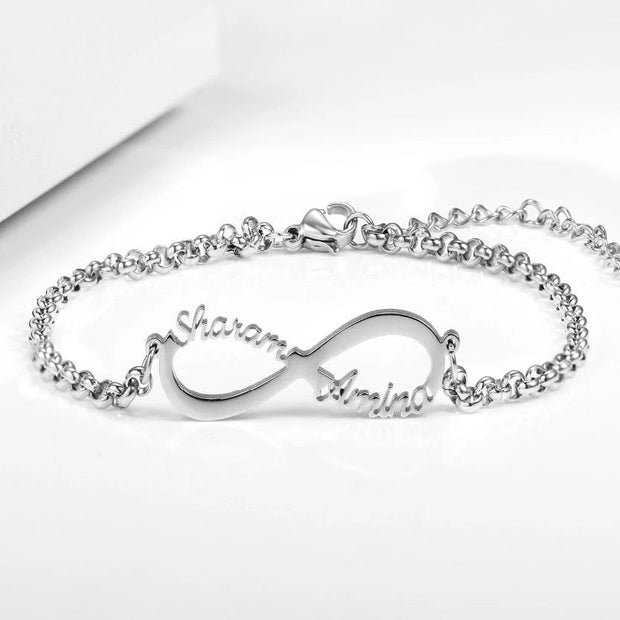 Infinity Name Bracelet | Dorado Fashion