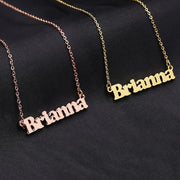 Bold Name Necklace | Dorado Fashion