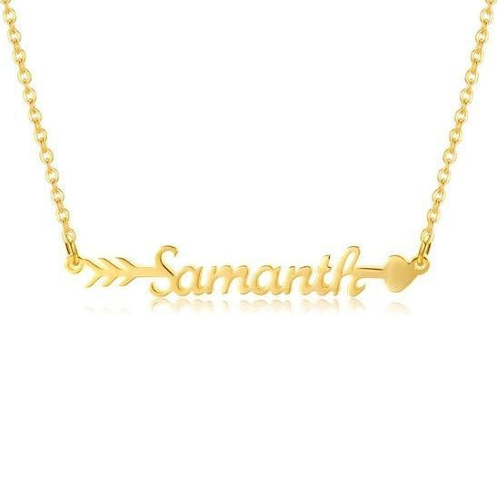 Arrow Name Necklace | Dorado Fashion