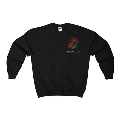 Custom Rose Sweatshirt | Dorado Fashion