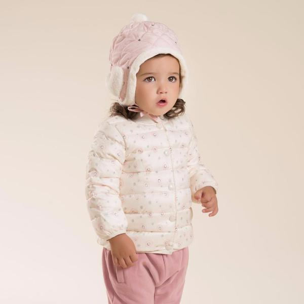 A Cute Warm Winter Girls Pink Cap-Baby&Toddler-Booboooutlet