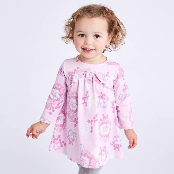 A Great New Floral Spring Girl's Dress-Booboooutlet