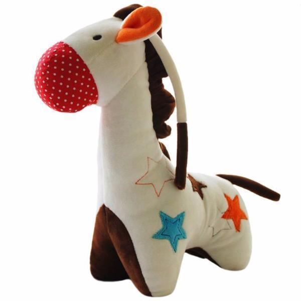 Animal Plush Toy Baby Rattle-Baby&Toddler Toys-Booboooutlet