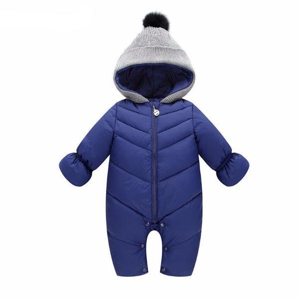 Autumn & Winter Baby Girls Boys Hooded Rompers-Baby&Toddler-Booboooutlet