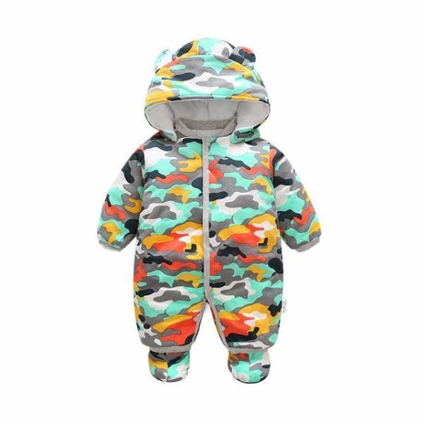 Baby Winter Warm Camouflage Romper-Baby&Toddler-Booboooutlet