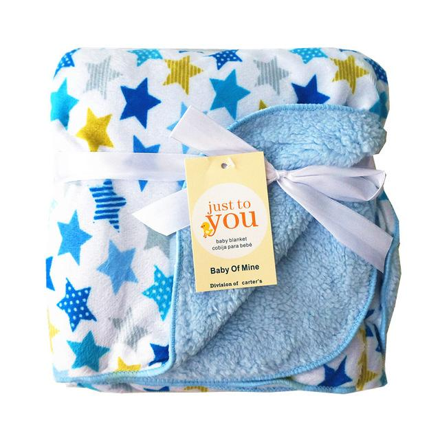 Double Layer Swaddle Envelope, Baby Blanket-Baby&Toddler-Booboooutlet