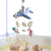 Baby Crib Plush Musical Box with 60 songs