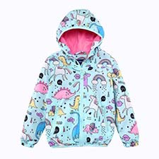 Spring Girls Hooded Windbreaker Jacket