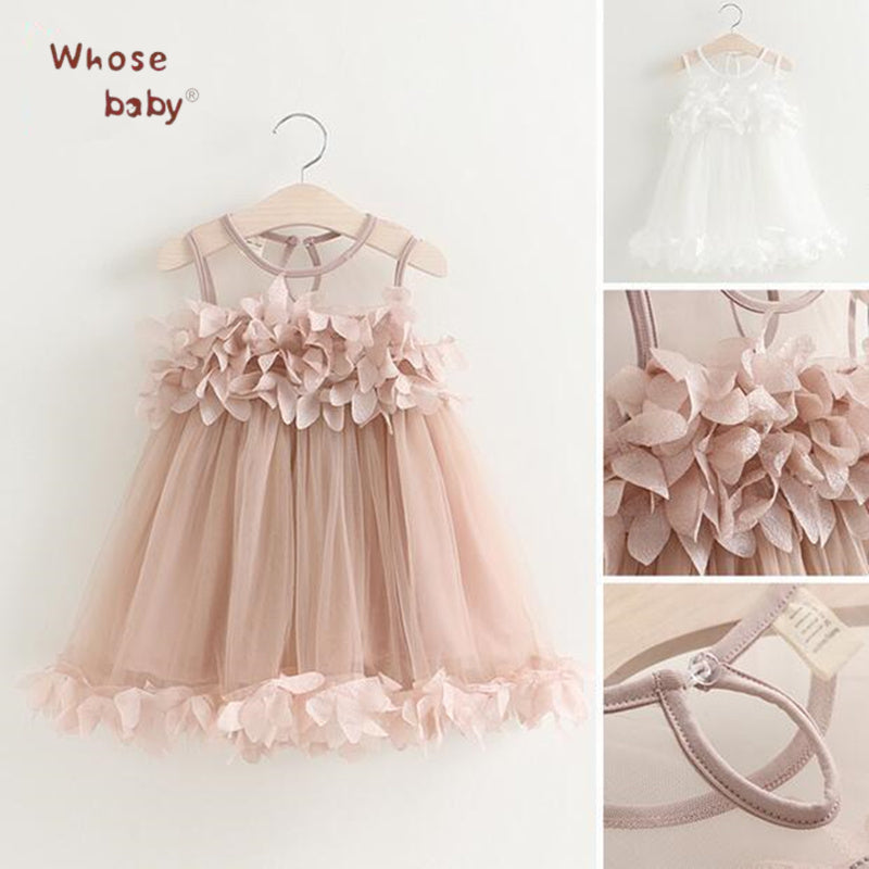 Flower Chiffon Summer Princess Dress