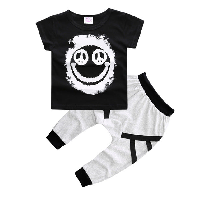 Spring-Summer Baby Boy clothing set