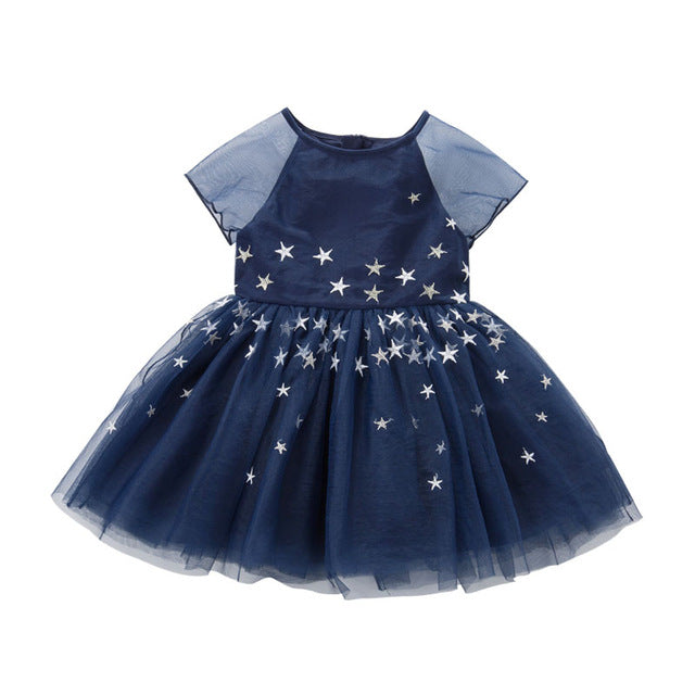 Girl's Starry Princess Dress