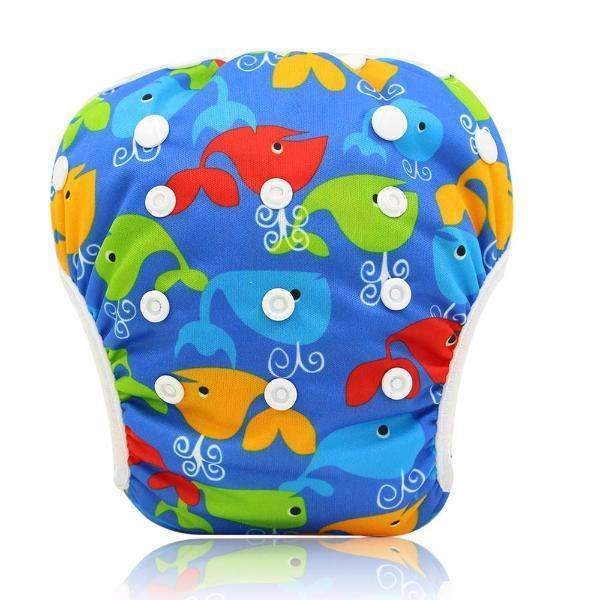 Reusable Baby Swimming Diapers One Size 0-3 Years 24 variants-newborn-Booboooutlet