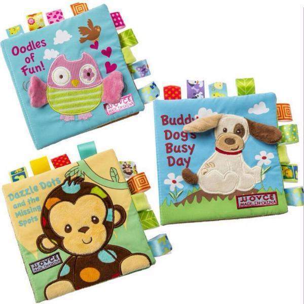 Soft Cloth Animals Book for Baby's Early Education-newborn-Booboooutlet