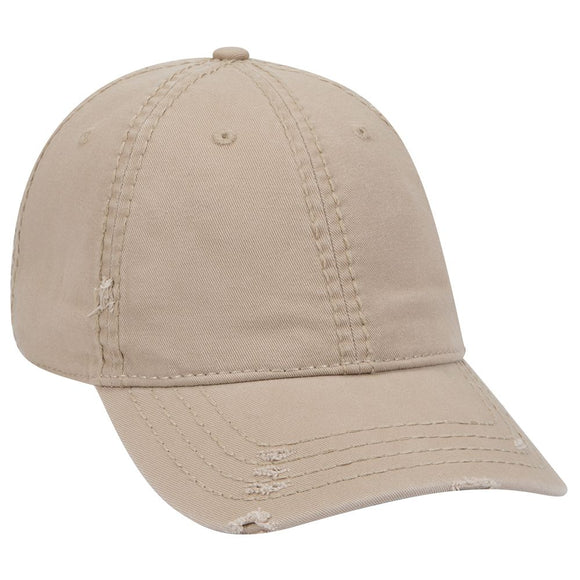 Low Profile Distress Look Dad Hats Style 104-1018