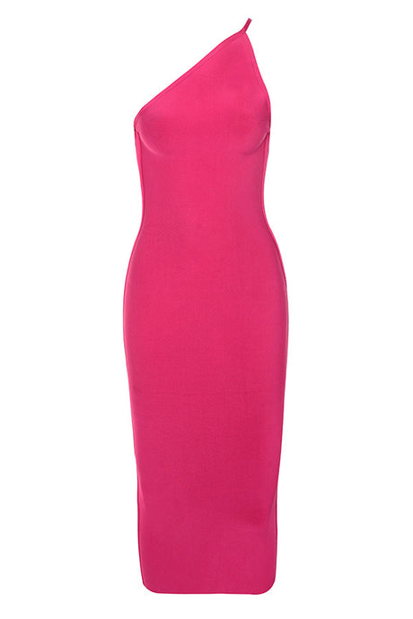 'Mina' Vibrant Pink Backless Bandage Dress - PYNK CONFESSIONS