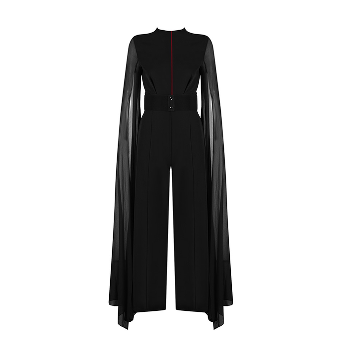 Goddess Midnight Black Exclusive Jumpsuit - PYNK CONFESSIONS