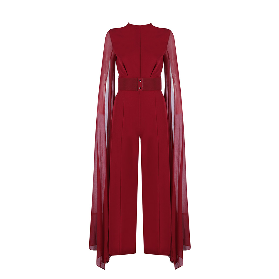 Goddess Wine Red Exclusive Jumpsuit - PYNK CONFESSIONS