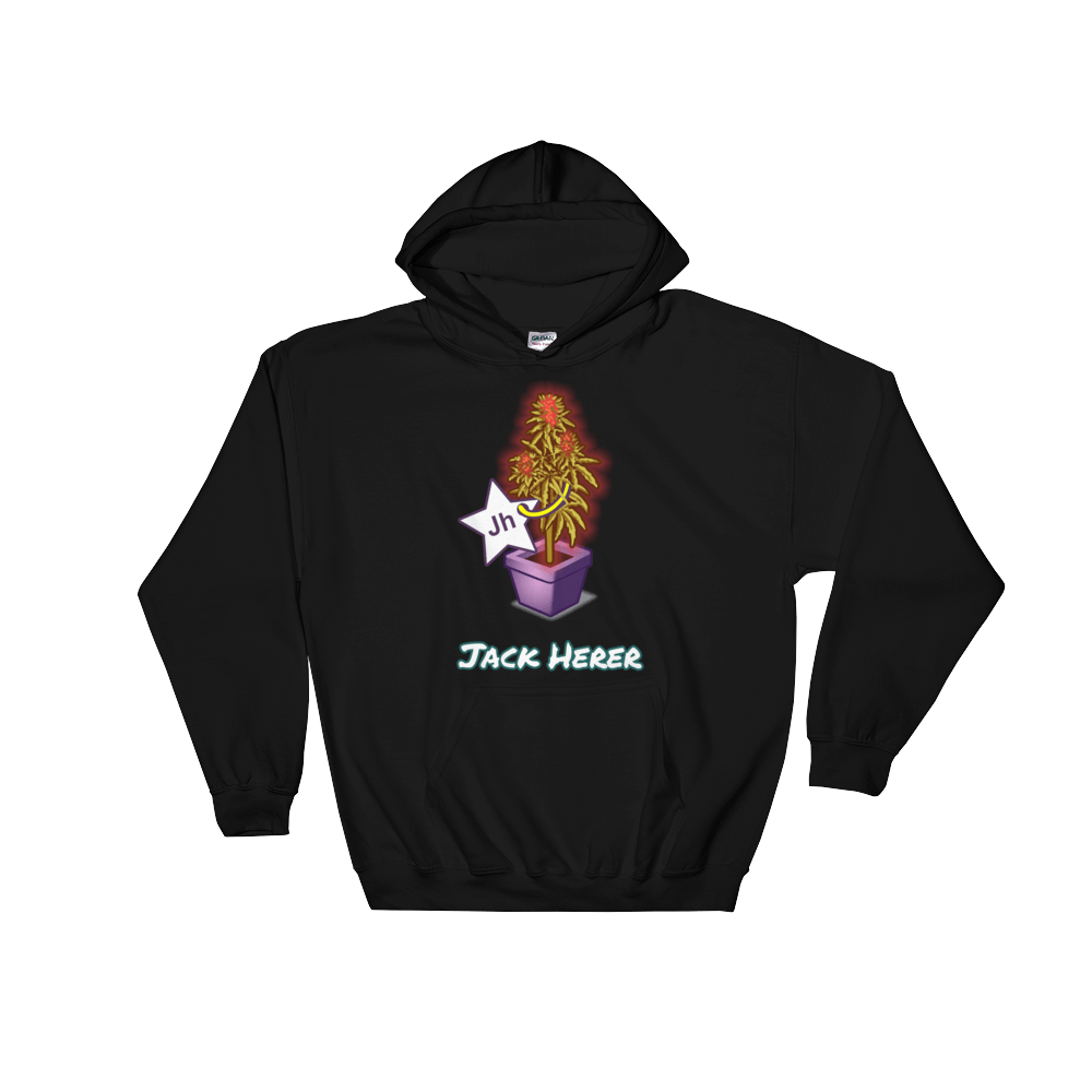 JACK HERER Hooded Sweatshirt