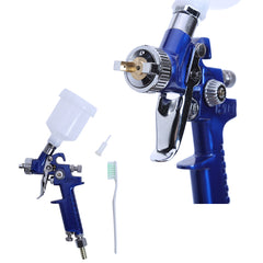 0.8MM / 1.0MM Nozzle H-2000 Professional HVLP Mini Paint Gun 250ml Cup capacity For Painting Car Aerograph