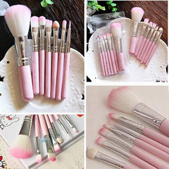 2016 Best Sell 7Pcs Pro Pink Makeup Brush Set Eyeshadow Cosmetic Tools Eye Face Beauty Brushes 5WEI 7GTH 8LNO
