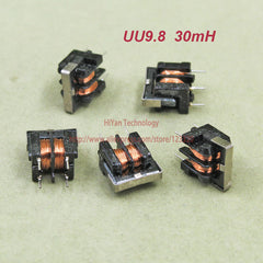 (50 stks/partij) UU9.8 30mH Common Mode Choke Inductor Voor Filter