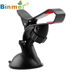 #8 Hot Universal 360 degree spin Car Windshield Mount cell mobile phone Holder Bracket stands for iPhone5 4S for Smartphone GPS
