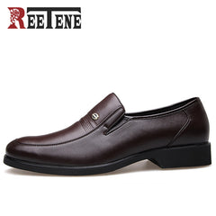 REETENE Fashion Business Dress Men Shoes 2017 New Classic Men'S Business Suits Shoes Fashion Slip On Shoes Man Flats Wholesale