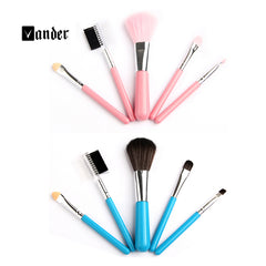 5PCS/Set Professional Cosmetic Makeup Brushes Set / Styling Tools Accessories Foundation Beauty Make up Toiletry Kit maquillaje