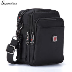 Soperwillton Brand Men's Bag Messenger Bags Wateproof High Quality Oxford 1680D Zipper Bag Crossbody For Male DropShipping #1052