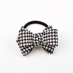 2017 New Bowknot Ponytail Elastic Holders Beauty OL Style Super Quality 2016 New Hair Accessories Girl Women Rubber Band Tie Gum