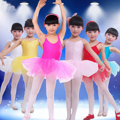 2016 New Girls Ballet Dress For Children Girl Dance Clothing Kids Ballet Costumes For Girls Dance Leotard Girl Dancewear 6 Color