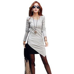 Long Sleeve Slim Bodycon Knit Sweater