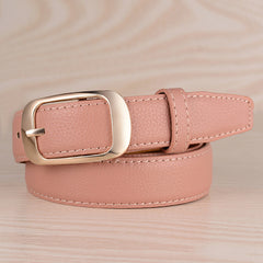 15 color Belts For Women Cintos Femininos 2017  Buckle Women's Leather Belt Waistband Female Straps PU Buckle cowboy belts Y203