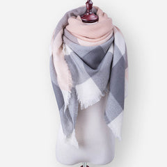 2017 Fashion Brand Winter Scarf For Women Designer Basic Shawls Scarf  Women Scarf Warm Cashmere  Scarves Autumn Winter blanket