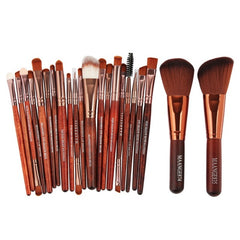 22 Pcs Top Quality Makeup Brush Set Powder Foundation Eyeshadow Eyeliner Lip Cosmetic Brush Kit Beauty Tools Maquiagem Pincel