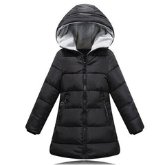 2017 Autumn Winter jacket for girls clothes Cotton Padded Hooded Kids Coat Children clothing girl Parkas enfant Jackets & Coats