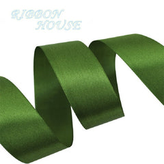 (25 yards/roll) 40mm Single Face Satin Ribbon Webbing Decoration Gift Christmas Ribbons