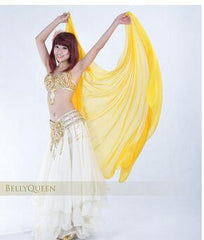 1pcs/lot free shipping woman belly dancing chiffon veil Dance Dancing Costume Chiffon Shawl Veil 250*120CM